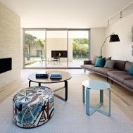 Indoor Outdoor Fireplaces California House Brighton