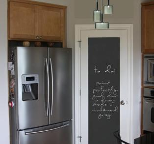 Indulging Chalkboard Accent Wall Jroxdesigns