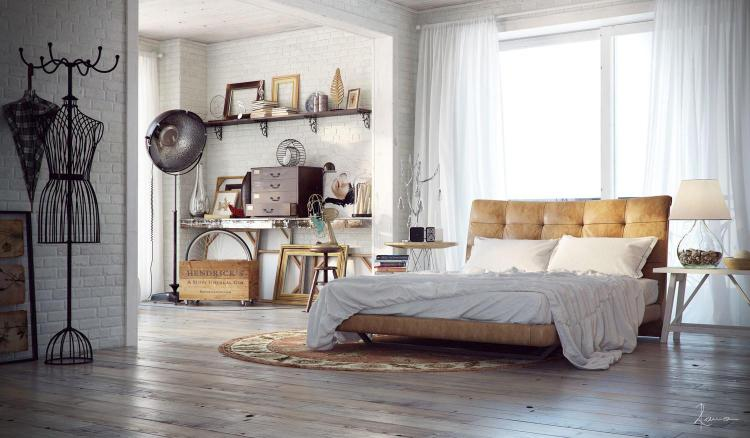 37 Most Popular Industrial Bedrooms Ideas That Look Stunning For 2021 In Pictures Decoratorist