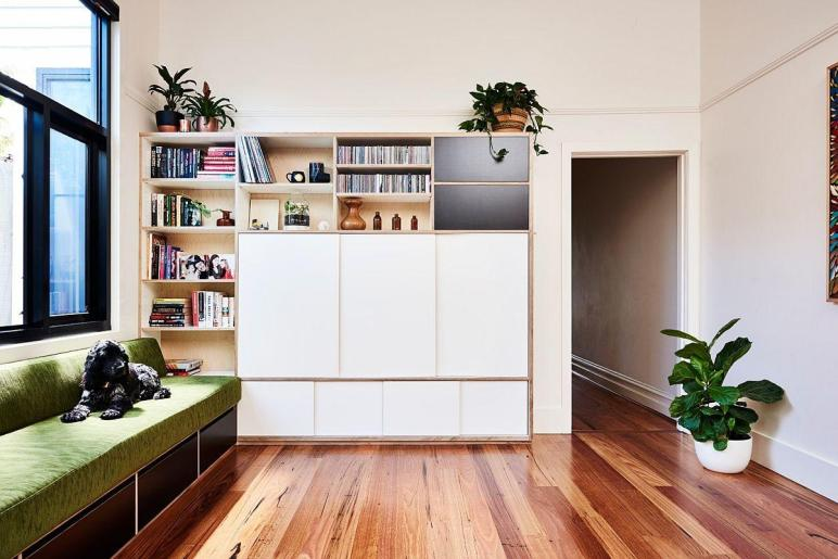 Industrial Kitchen Versatile Family Room Redefine