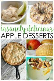 Insanely Delicious Easy Apple Dessert Recipes Written