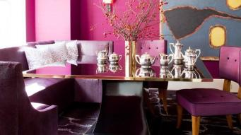 Inspiration Violet Dining Room 2017 Decorating