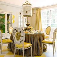 Inspirational Ideas Yellow Dining Room Light