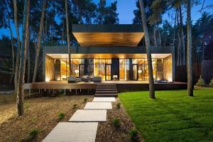 Inspired Forest Modern Chalet Poltava Unveils
