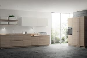 Inspired Japanese Minimalism Posh Scavolini Kitchen