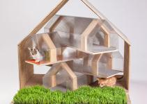 Inspiring Custom Built Modern Cat Houses Revealed