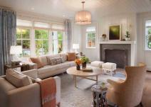Inspiring Farmhouse Living Room Design Decoration