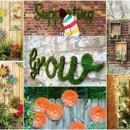 Inspiring Garden Fence Decor Ideas Your Dream