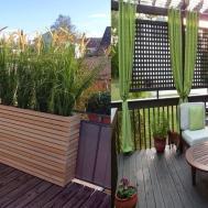 Inspiring Small Balcony Privacy Screen Ideas