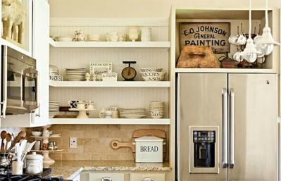 Interesting Types Open Kitchen Shelving Artenzo