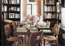Interior Inspirations Library Dining Designing