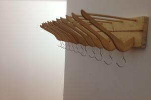 Interior Saving Money Diy Coat Hanger Rack