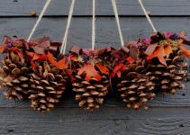 Intresting Pinecone Decoration Ideas Festive