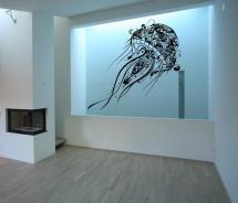 Jellyfish Wall Decal Large Vinyl