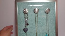 Jewelry Hanging Organizer Diy Dollar Tree Crafts