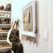 Jewelry Organizer Diy Fun Tips Hanging Jewels