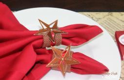 Jinky Crafts Designs Holiday Burlap Napkin Ring Tutorial