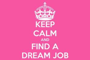 Keep Calm Find Dream Job Poster Matic