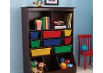 Kidkraft Wall Storage Unit Espresso Toy