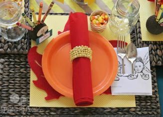 Kids Thanksgiving Table Creative Home