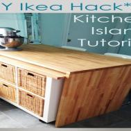 Kitchen Island Hack Diy
