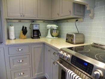 Kitchen Modern Grey Cabinets Inspire