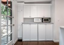 Kitchen Remodeled Studio City Barn Door Pantry Eden