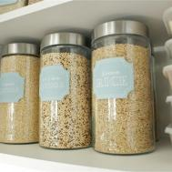 Kitchen Storage Glass Containers