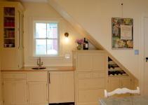 Kitchen Under Stairs Silo Home