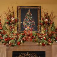 Kristen Creations Christmas Mantle
