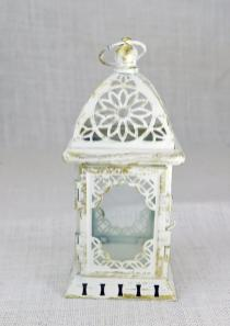 L004 Wedding Lantern Centerpiece Vintage Aflowerandmore