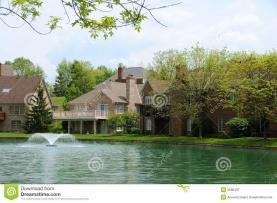 Lakeside Homes Stock Architecture Nature