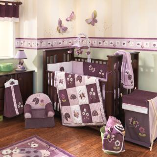 Lambs Ivy Luv Bugs 4pc Crib Set