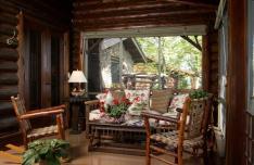 Landscape Ideas Rustic Cabin Decosee