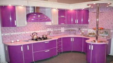 Latest Purple Pink Kitchen Design Ideas Modern
