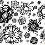 Latin American Arttextilesfabricsfolk Floral Designs