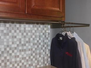 Laundry Hanging Rod Diy Room Clothes