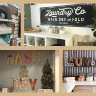 Laundry Room Decor Ideas Diy Home Decorations