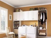 Laundry Room Storage Ideas Diy Home Decor Decorating
