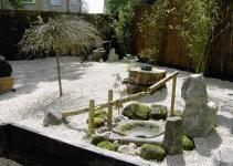 Lawn Garden Cool Japanese Rock Design Bamboo