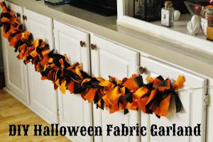 Life Boys Diy Halloween Fabric Garland