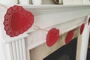 Life Sweet Diy Valentine Garland