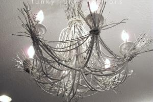 Lighting Life White Twig Chandelierfunky Junk