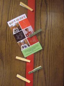 Little Bit Everything Diy Ribbon Christmas Card Holder