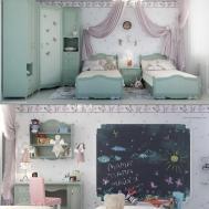 Little Girls Bedroom Interior Design Ideas