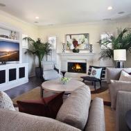 Living Room Furniture Ideas Fireplace Modern