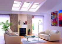 Living Rooms Skylights