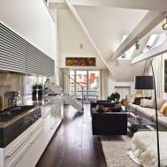 Loft Design Ideas Living Room Unique