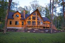 Log Home Plans Timber Block Features Fabulous Floor