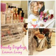 Lorimer Living Life Beautiful Easy Perfume Display